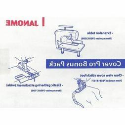Janome Coverpro 1000cpx 2000cpx Coverhem Sewing Machine Bonu