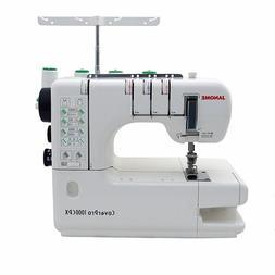 Janome CoverPro 1000CPX Coverstitch Serger Machine with Bonu