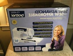 Brother CS-6000i Computerized Sewing Machine. BRAND NEW! NEV