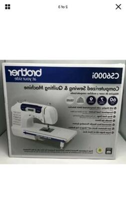 Brother CS6000i 60-Stitch Computerized Sewing Machine With