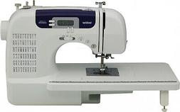 Computerized Sewing Machine w/ Wide Table and 60 Built-In St