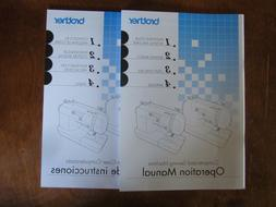 Brother CS6000i Sewing Machine Instruction Manual & Quilting