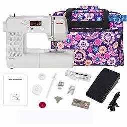 Janome DC1050 Computerized Sewing Machine Bundle with Bonus