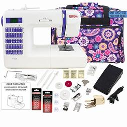 Janome DC2014 Computerized Sewing Machine with Bonus Bundle