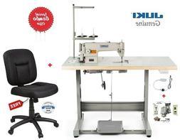 Juki DDL-8700 Lockstitch Sewing Machine w/ Servo Motor,Stand