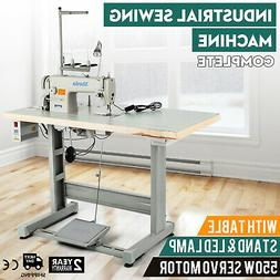 ddl 8700 sewing machine with table servo