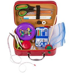 Anyone Can Sew Deluxe Beginner Sewing Kit With Travel Mendin