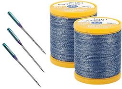 Denim Thread and Needles Set - Three Universal Denim Machine
