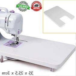 Whitelotous Domestic Sewing Machine Extension Table Plastic