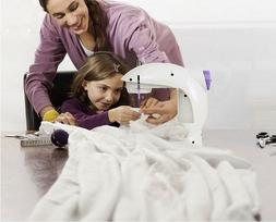 Double Threads Varmax 201 Electric Mini Sewing Machine with