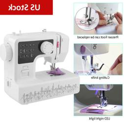 Electric Sewing Machine Portable 12 Stitches 2 Speed Househo