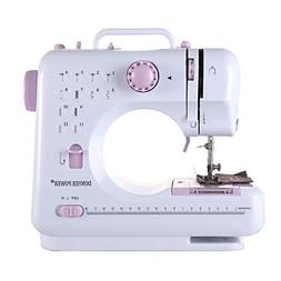 DONYER POWER Electric Sewing Machine Portable Mini with 12 B