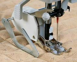 Even Feed/Walking Foot Sewing Machine Presser Foot+Quilt Gui
