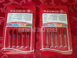 Singer Sewing Machine Needles 2020 Red Band 9,11,14 ,16