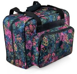 Distinctive Large Floral Pattern Premium Sewing Machine Univ