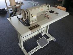 Yamata FY5318 walking foot lockstitch sewing machine with Se