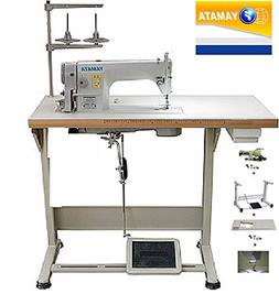 Yamata FY8700 Lockstitch Industrial Sewing Machine with Clut