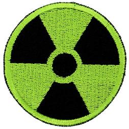 Gamma Radiation Radioactive Symbol Patch Embroidered Iron On