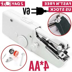 Handheld Sewing Machine Portable Mini Cordless Stitch Tool F