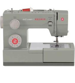 SINGER | Heavy Duty 4452 Sewing Machine with 32 Built-In Sti