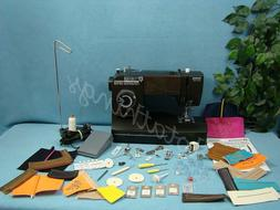 HEAVY DUTY SEWING MACHINE WITH WALKING FOOT SEWS LEATHER UPH