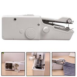 Home Travel Mini Portable Sewing Machine Handheld Cordless Q