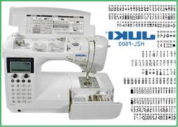Juki HZL-F600 Sewing Machine Quilting Machine Exceed HZLF600