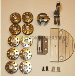 Industrial sewing Machine 18PCS. Set Single Needle Juki Brot