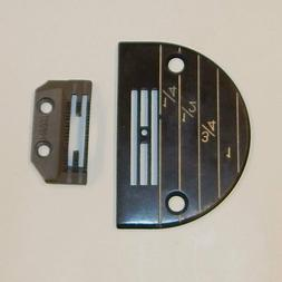 INDUSTRIAL SEWING MACHINE FEED DOG & PLATE REGULAR set FOR J