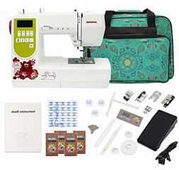 Janome AMH M100 Computerized Sewing Machine with Bonus Bundl