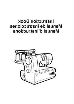 Janome Cover Pro 1000CPX Sewing Machine Overlocker Instructi