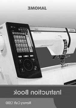 Janome Horizon Memory Craft 12000 Sewing Machine Embroidery
