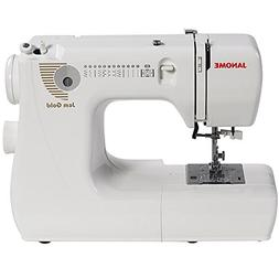 Janome Jem Gold 660 12-Stitch Compact Lightweight Sewing Qui