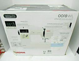 JANOME JW8100 COMPUTERIZED SEWING MACHINE W/ 100 BUILT IN ST