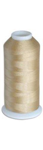 1 cone of Commercial Polyester Embroidery Thread Kit - Tan M