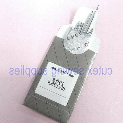 10 Organ 190LR MTX190LR Leather Sewing Needles for Pfaff Ind