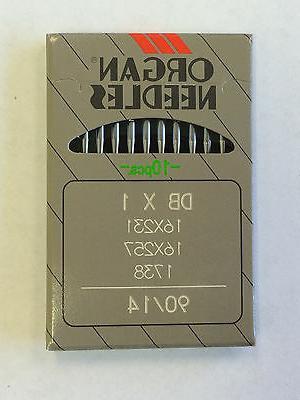 10 ORGAN DBX1 16X257 16X231 1738 INDUSTRIAL LOCKSTITCH SEWIN