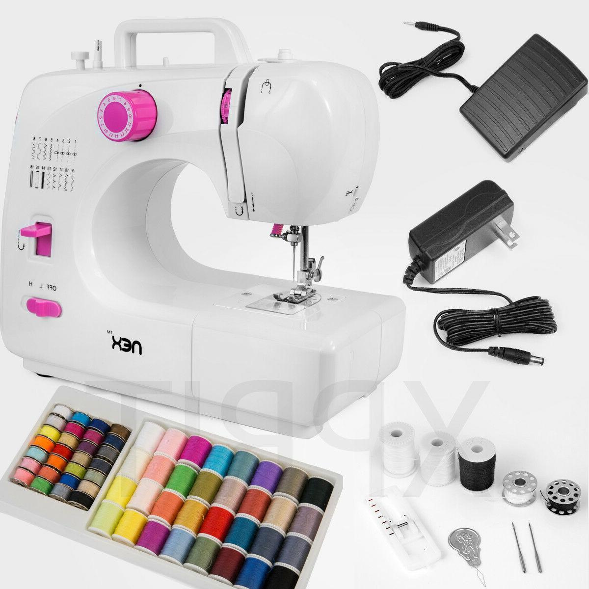 NEX 16 go line Sewing Machine FHSM-508 white Free shipping