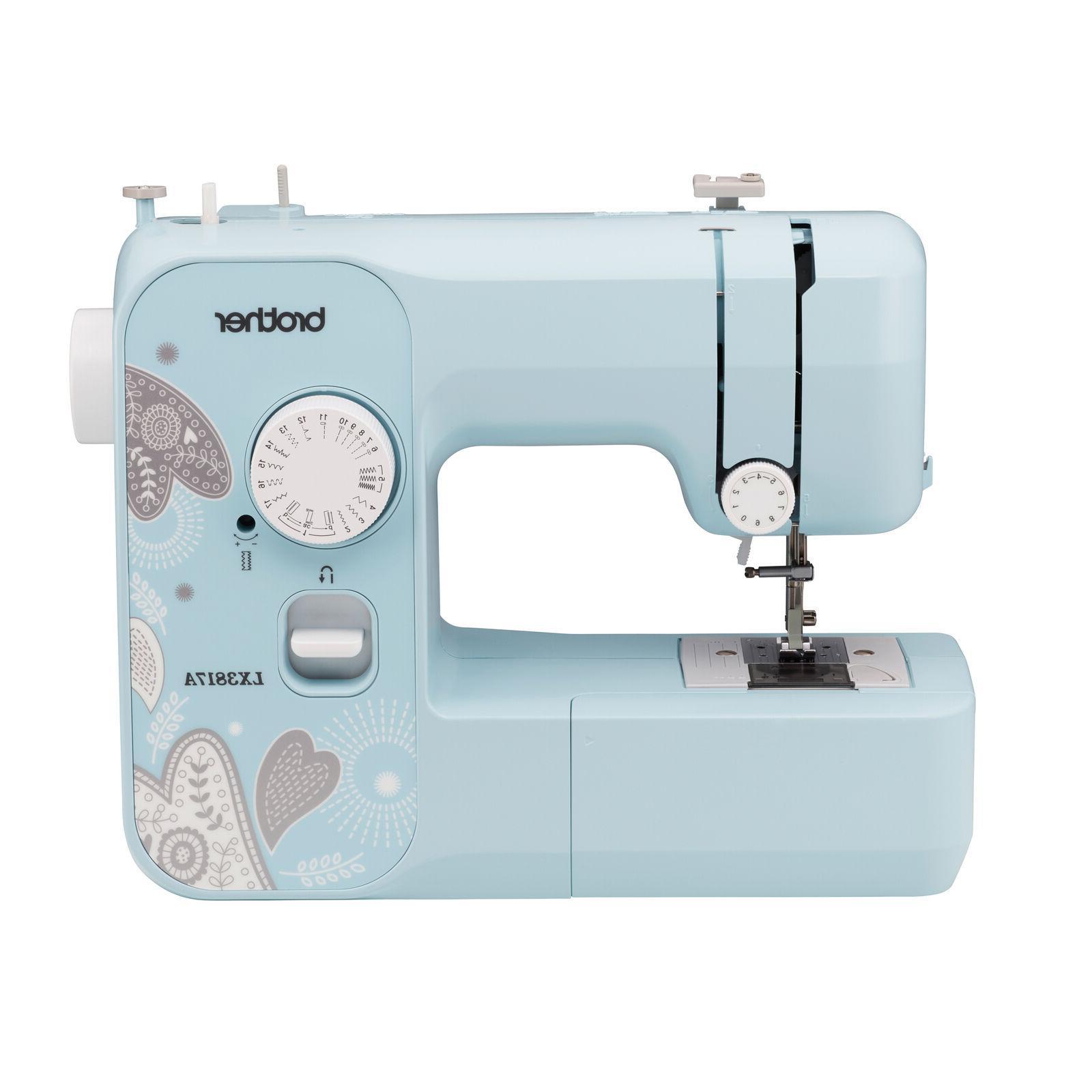 new full size sewing machine 17 stitch