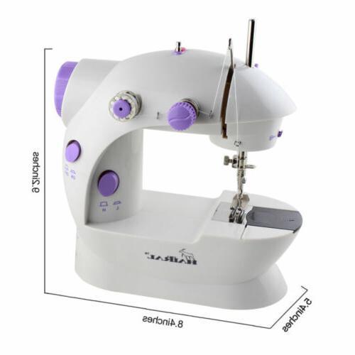 2-Speed Electric Desktop Sewing Machine Handheld Household