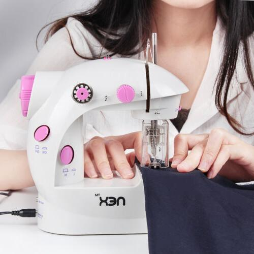 Mini Electric Portable Desktop Sewing Machine and 60 Piece S