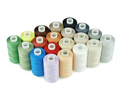 Simthread 20 Multi 100% Cotton Sewing Thread 50s/3 -