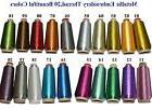20 Sparkle Metallic Machine Embroidery Thread Colors,Big 400