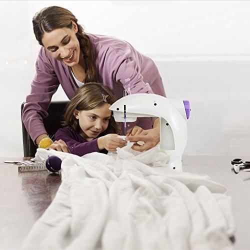 Varmax Mini Sewing Electrical with Pedal, Bobbins,