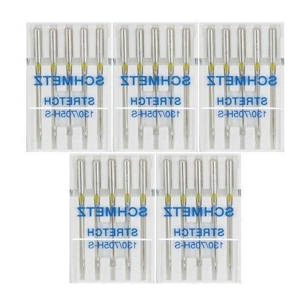 25 size 11 stretch sewing machine needles