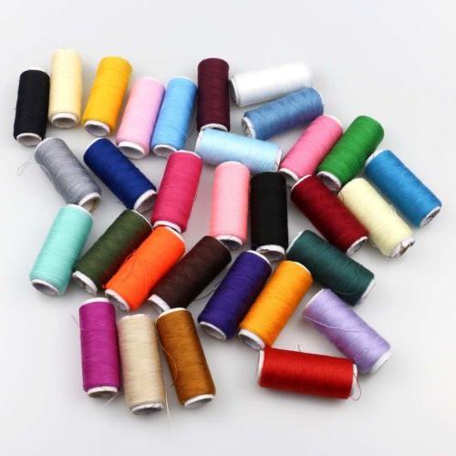 2Pcs 100% Cotton Finest Purpose Thread Reel Color