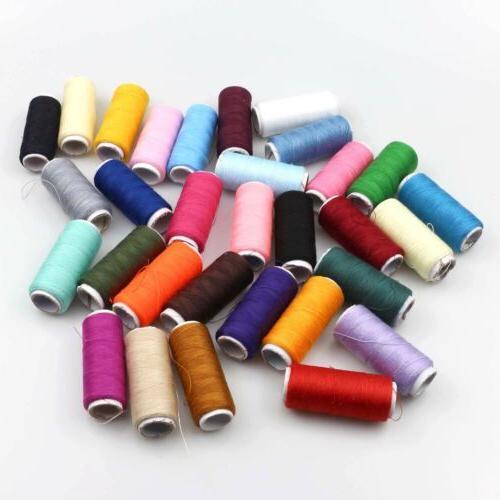 2Pcs 100% Cotton Finest Quality Sewing Purpose Reel 30 Color
