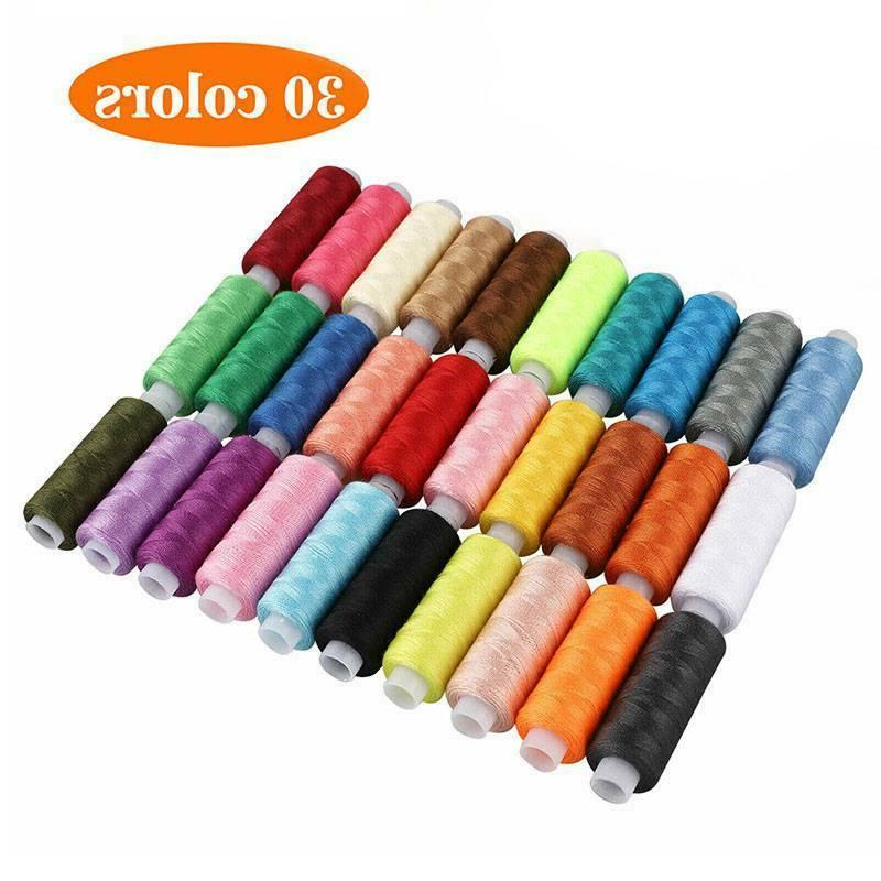 30Colors 250Yards Polyester Thread Machine