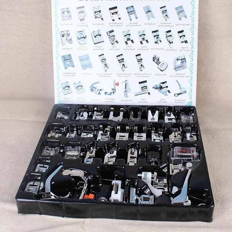 32pcs set domestic sewing machine presser foot