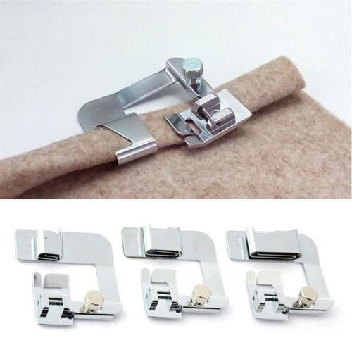 3pcs Domestic Sewing Machine Foot Presser Rolled Hem Feet Se